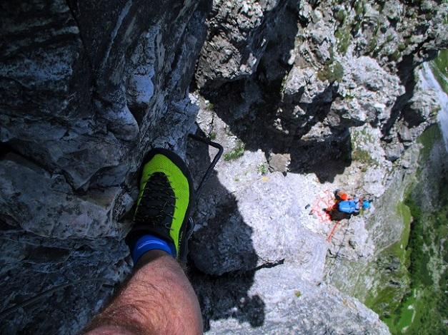 Foto: Andreas Koller / Klettersteigtour / Nordwand-Klettersteig Elferturm (2499m) / 09.07.2020 18:40:53