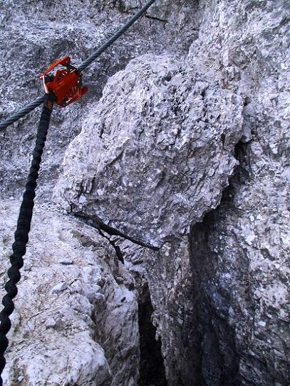 Foto: Andreas Koller / Klettersteigtour / Nordwand-Klettersteig Elferturm (2499m) / 09.07.2020 18:40:19