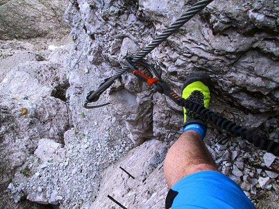 Foto: Andreas Koller / Klettersteigtour / Nordwand-Klettersteig Elferturm (2499m) / 09.07.2020 18:40:04