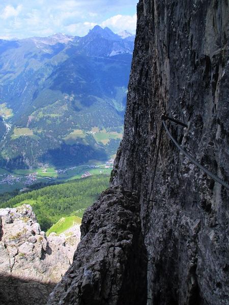 Foto: Andreas Koller / Klettersteigtour / Nordwand-Klettersteig Elferturm (2499m) / 09.07.2020 18:39:07