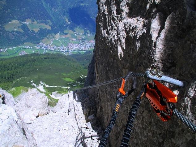 Foto: Andreas Koller / Klettersteigtour / Nordwand-Klettersteig Elferturm (2499m) / 09.07.2020 18:38:50