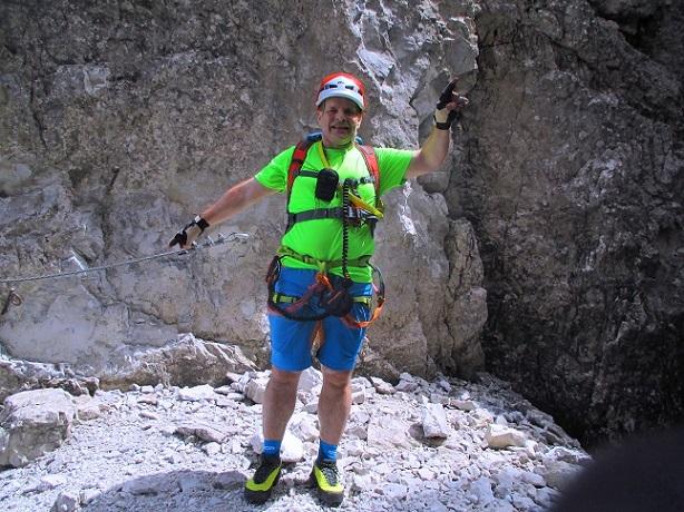 Foto: Andreas Koller / Klettersteigtour / Nordwand-Klettersteig Elferturm (2499m) / 09.07.2020 18:38:36