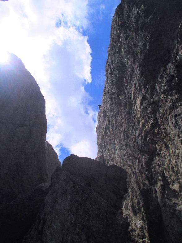 Foto: Andreas Koller / Klettersteigtour / Nordwand-Klettersteig Elferturm (2499m) / 09.07.2020 18:38:31