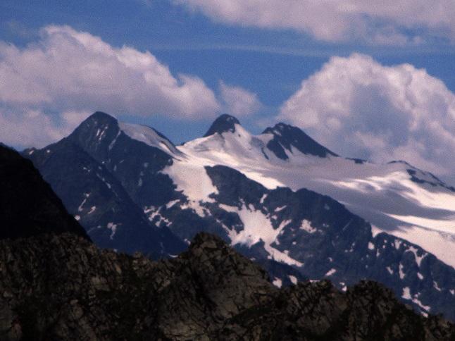 Foto: Andreas Koller / Klettersteigtour / Nordwand-Klettersteig Elferturm (2499m) / Aussicht genießen vom Westlichen Elferturm / 09.07.2020 18:37:49