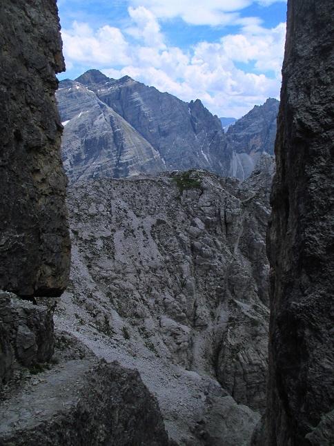 Foto: Andreas Koller / Klettersteigtour / Nordwand-Klettersteig Elferturm (2499m) / 09.07.2020 18:36:22