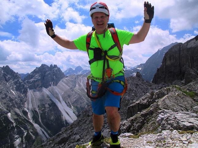 Foto: Andreas Koller / Klettersteigtour / Nordwand-Klettersteig Elferturm (2499m) / 09.07.2020 18:36:15