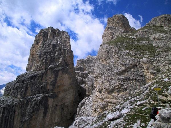 Foto: Andreas Koller / Klettersteigtour / Nordwand-Klettersteig Elferturm (2499m) / 09.07.2020 18:36:04