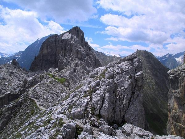Foto: Andreas Koller / Klettersteigtour / Nordwand-Klettersteig Elferturm (2499m) / 09.07.2020 18:35:57