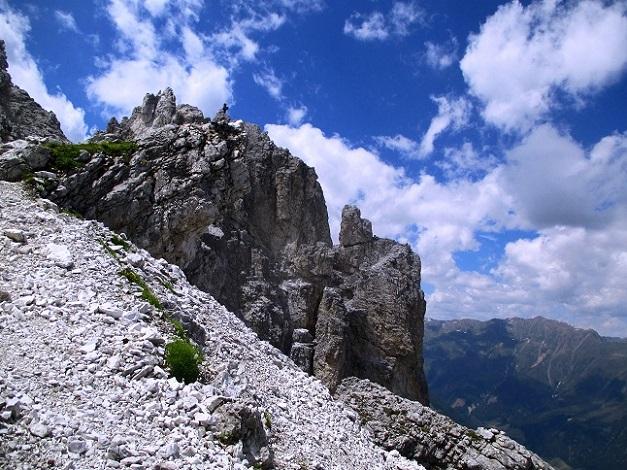 Foto: Andreas Koller / Klettersteigtour / Nordwand-Klettersteig Elferturm (2499m) / 09.07.2020 18:35:31