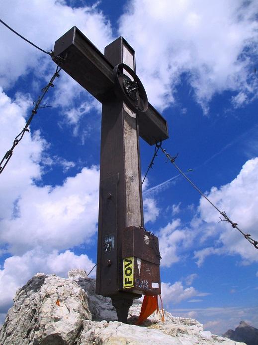 Foto: Andreas Koller / Klettersteigtour / Nordwand-Klettersteig Elferturm (2499m) / Nördlicher Elferturm / 09.07.2020 18:35:01