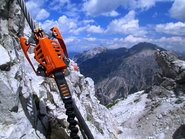 Foto: Andreas Koller / Klettersteigtour / Nordwand-Klettersteig Elferturm (2499m) / 09.07.2020 18:34:10