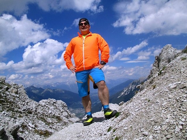 Foto: Andreas Koller / Klettersteigtour / Nordwand-Klettersteig Elferturm (2499m) / 09.07.2020 18:33:26