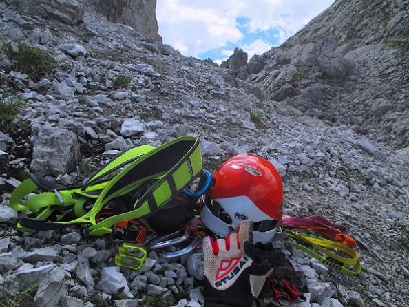 Foto: Andreas Koller / Klettersteigtour / Nordwand-Klettersteig Elferturm (2499m) / 09.07.2020 18:33:17