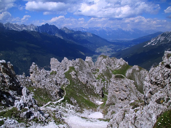Foto: Andreas Koller / Klettersteigtour / Nordwand-Klettersteig Elferturm (2499m) / 09.07.2020 18:32:42