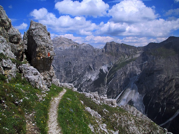 Foto: Andreas Koller / Klettersteigtour / Nordwand-Klettersteig Elferturm (2499m) / 09.07.2020 18:32:35