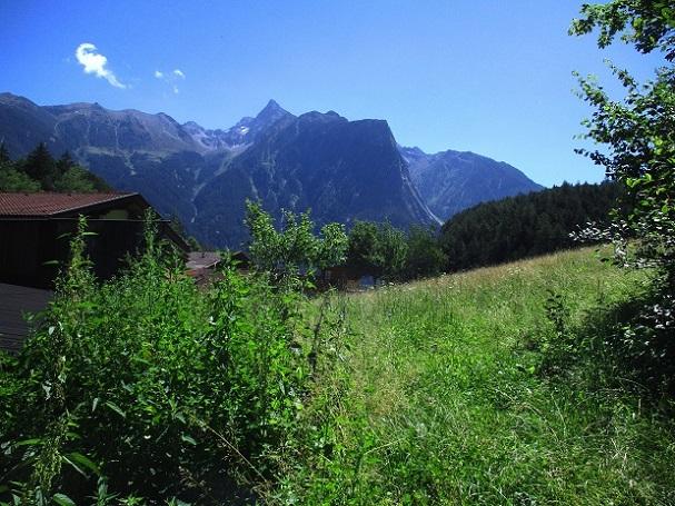 Foto: Andreas Koller / Klettersteigtour / Klettersteig Piburg (995m) / AP Piburg mit Blick zum Acherkogel (3007m) / 31.07.2020 01:46:06