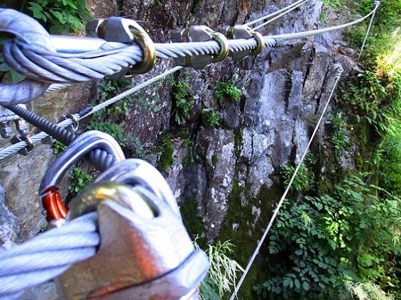 Foto: Andreas Koller / Klettersteigtour / Klettersteig Piburg (995m) / 31.07.2020 01:45:21