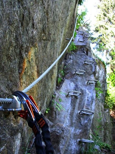Foto: Andreas Koller / Klettersteigtour / Klettersteig Piburg (995m) / 31.07.2020 01:45:09