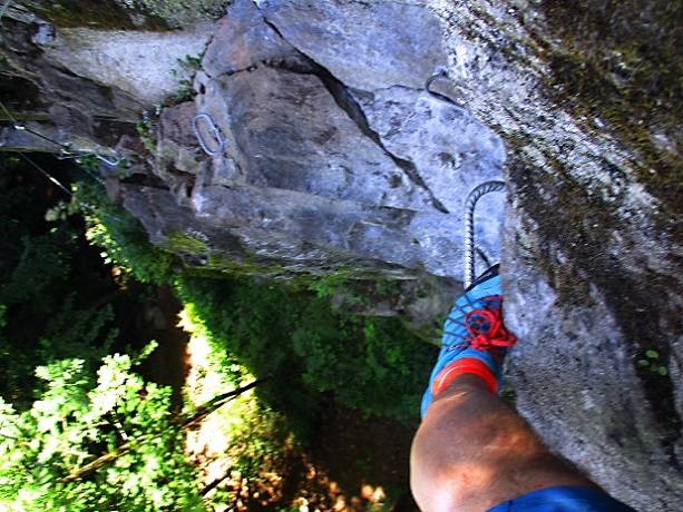 Foto: Andreas Koller / Klettersteigtour / Klettersteig Piburg (995m) / 31.07.2020 01:44:03