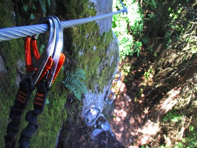 Foto: Andreas Koller / Klettersteigtour / Klettersteig Piburg (995m) / 31.07.2020 01:43:57