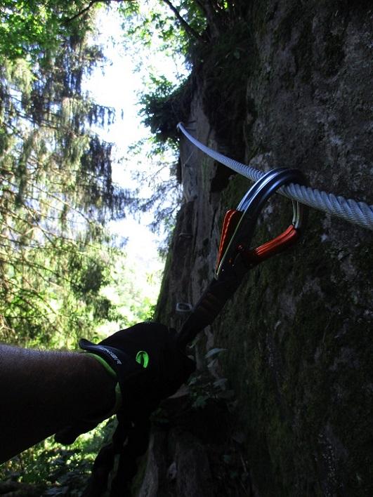 Foto: Andreas Koller / Klettersteigtour / Klettersteig Piburg (995m) / 31.07.2020 01:43:50