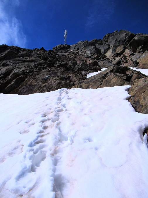 Foto: Andreas Koller / Wandertour / TG Pflerschtal3: Schneespitze (3178m) / Die letzten Meter...  / 31.07.2020 15:54:05