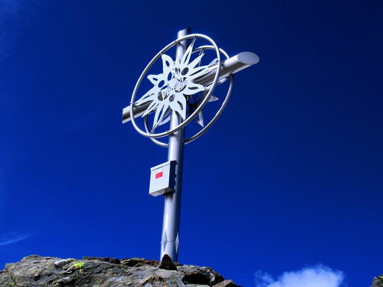 Foto: Andreas Koller / Wandertour / TG Pflerschtal3: Schneespitze (3178m) / Schneespitze Gipfelkreuz / 31.07.2020 15:53:50