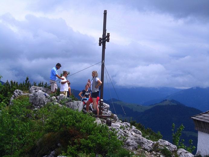 Foto: Andreas Koller / Wandertour / Grenzberg Spitzstein vom Erlerberg (1596m) / 30.09.2020 22:56:46