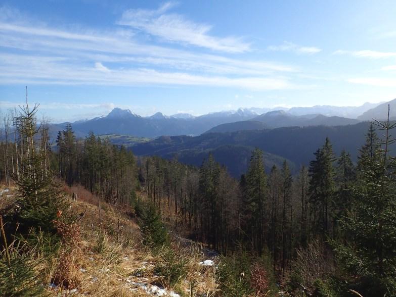 Foto: Manfred Karl / Wandertour / Widhag und Richtberg / Traunstein und Totes Gebirge vom Richtberg / 16.10.2020 07:19:04