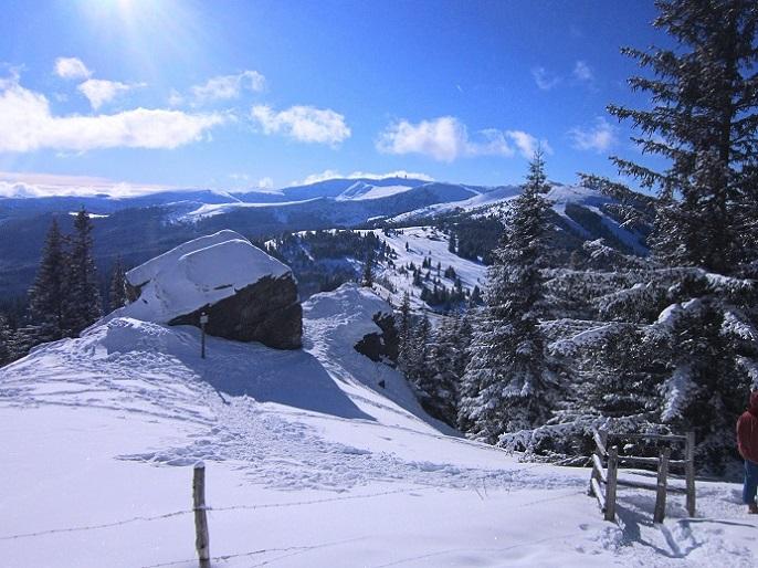 Foto: Andreas Koller / Schneeschuhtour / Weinebene Schneeschuhtour auf zwei Gipfel (1853m) / 04.01.2021 21:57:51