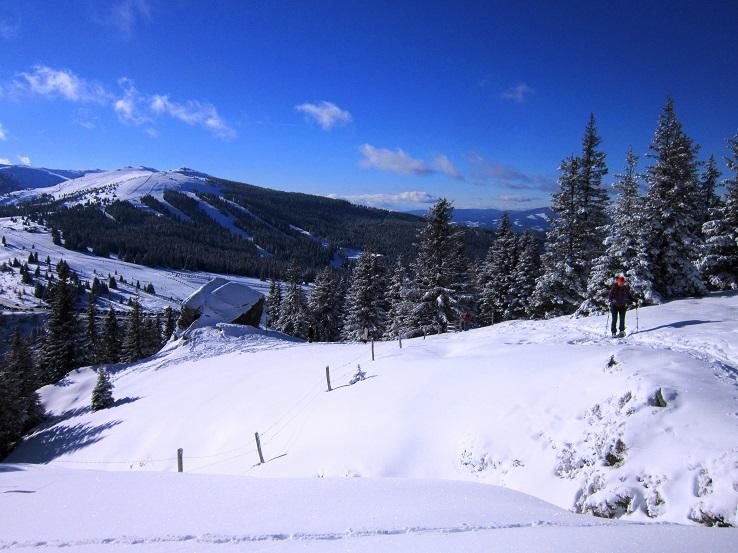 Foto: Andreas Koller / Schneeschuhtour / Weinebene Schneeschuhtour auf zwei Gipfel (1853m) / 04.01.2021 21:57:36