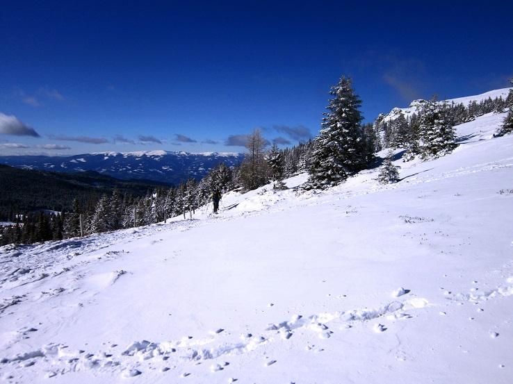 Foto: Andreas Koller / Schneeschuhtour / Weinebene Schneeschuhtour auf zwei Gipfel (1853m) / 04.01.2021 21:57:14