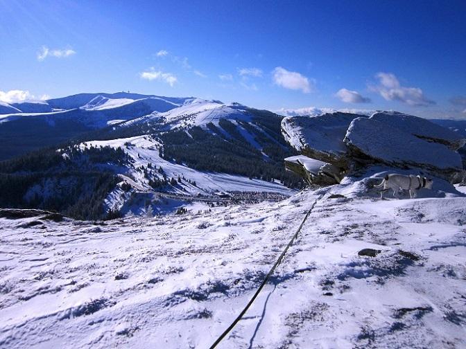 Foto: Andreas Koller / Schneeschuhtour / Weinebene Schneeschuhtour auf zwei Gipfel (1853m) / 04.01.2021 21:55:57
