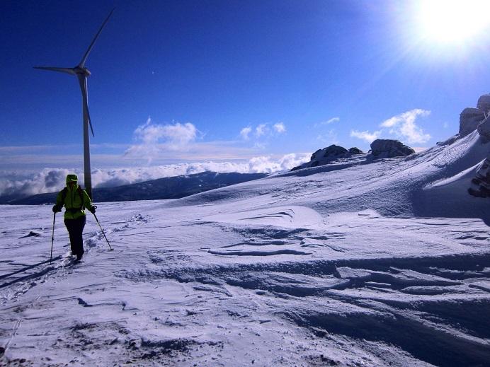 Foto: Andreas Koller / Schneeschuhtour / Weinebene Schneeschuhtour auf zwei Gipfel (1853m) / Handalpe / 04.01.2021 21:55:50