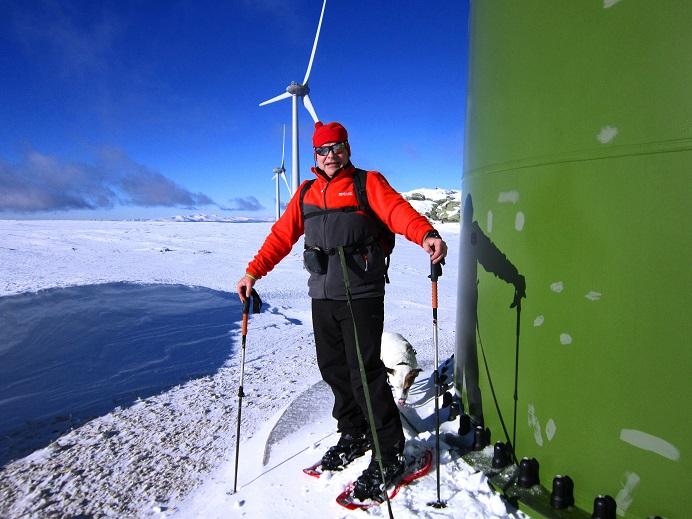 Foto: Andreas Koller / Schneeschuhtour / Weinebene Schneeschuhtour auf zwei Gipfel (1853m) / 04.01.2021 21:55:39