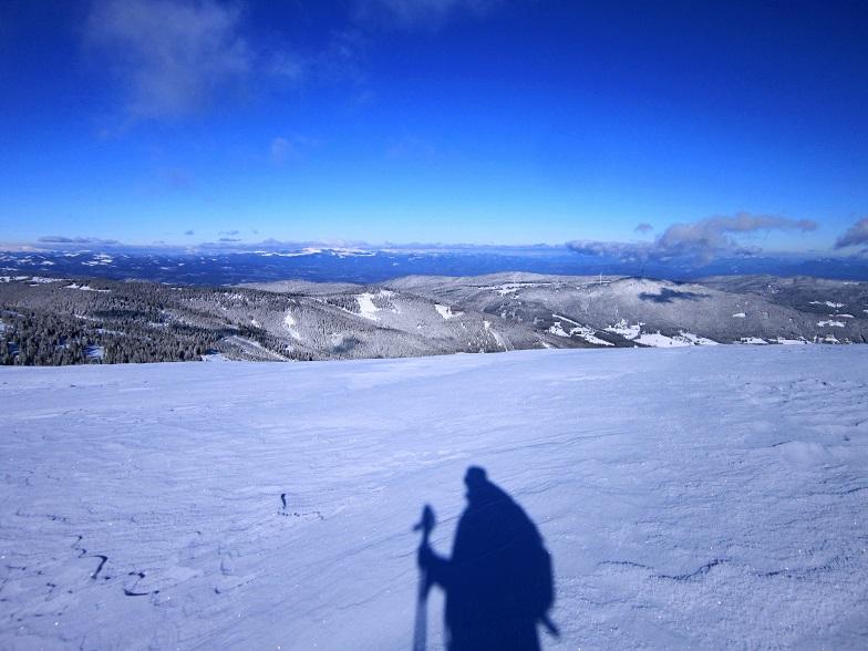 Foto: Andreas Koller / Schneeschuhtour / Weinebene Schneeschuhtour auf zwei Gipfel (1853m) / Übergang Handalpe - Weber Kogel / 04.01.2021 21:55:04