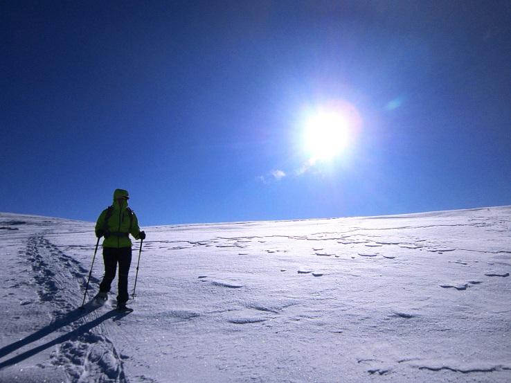 Foto: Andreas Koller / Schneeschuhtour / Weinebene Schneeschuhtour auf zwei Gipfel (1853m) / 04.01.2021 21:54:34