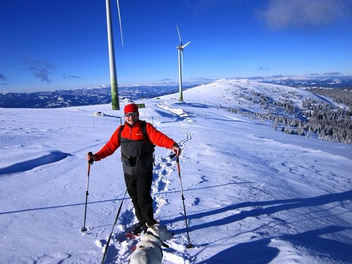 Foto: Andreas Koller / Schneeschuhtour / Weinebene Schneeschuhtour auf zwei Gipfel (1853m) / 04.01.2021 21:54:26
