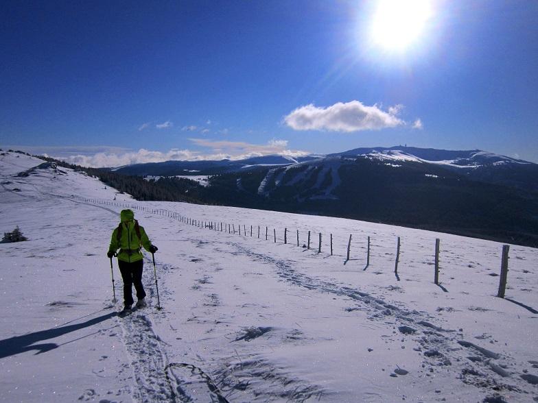 Foto: Andreas Koller / Schneeschuhtour / Weinebene Schneeschuhtour auf zwei Gipfel (1853m) / 04.01.2021 21:53:46