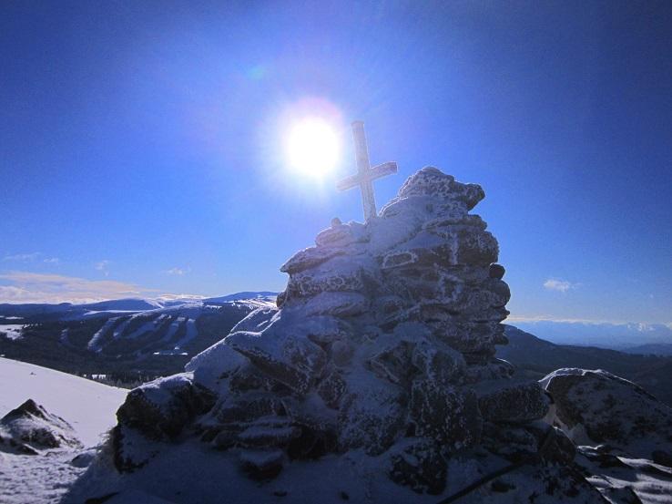 Foto: Andreas Koller / Schneeschuhtour / Weinebene Schneeschuhtour auf zwei Gipfel (1853m) / Weber Kogel / 04.01.2021 21:53:24