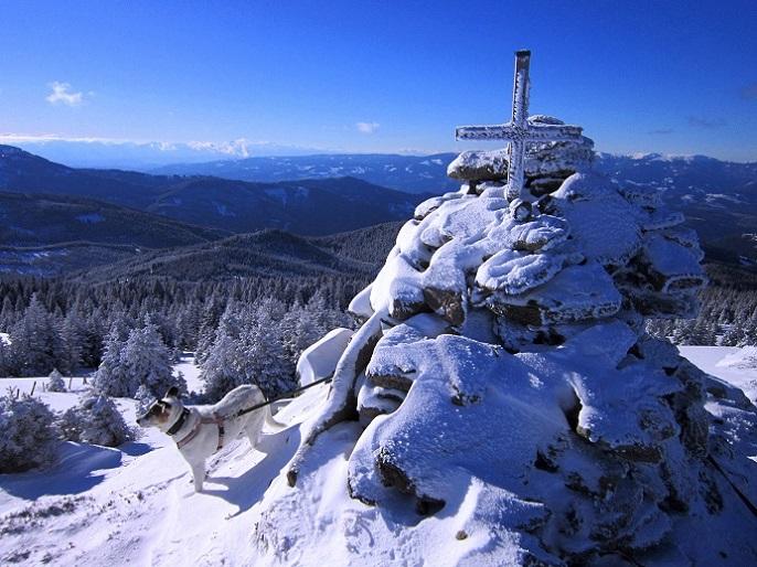 Foto: Andreas Koller / Schneeschuhtour / Weinebene Schneeschuhtour auf zwei Gipfel (1853m) / 04.01.2021 21:53:05