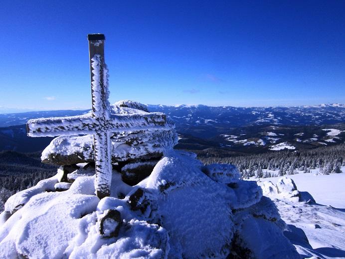 Foto: Andreas Koller / Schneeschuhtour / Weinebene Schneeschuhtour auf zwei Gipfel (1853m) / 04.01.2021 21:52:51