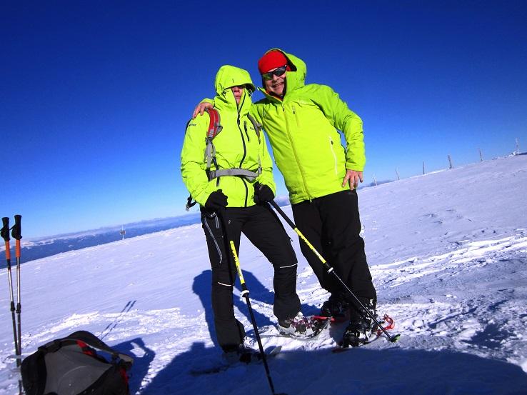 Foto: Andreas Koller / Schneeschuhtour / Weinebene Schneeschuhtour auf zwei Gipfel (1853m) / 04.01.2021 21:52:45