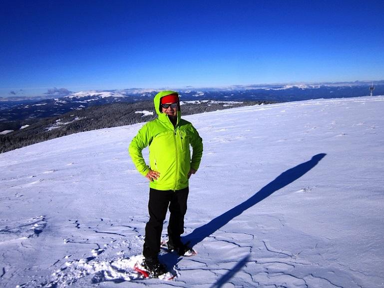 Foto: Andreas Koller / Schneeschuhtour / Weinebene Schneeschuhtour auf zwei Gipfel (1853m) / 04.01.2021 21:52:31