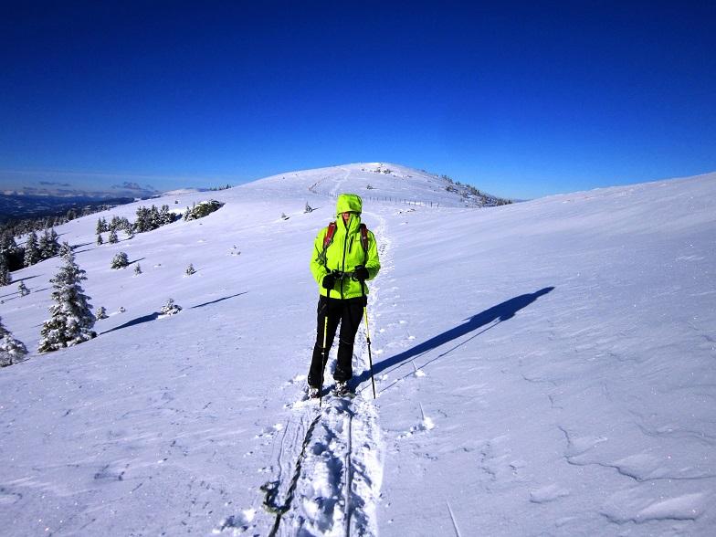 Foto: Andreas Koller / Schneeschuhtour / Weinebene Schneeschuhtour auf zwei Gipfel (1853m) / 04.01.2021 21:51:59