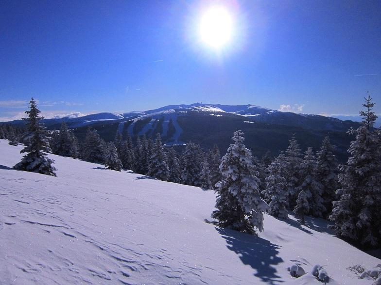 Foto: Andreas Koller / Schneeschuhtour / Weinebene Schneeschuhtour auf zwei Gipfel (1853m) / 04.01.2021 21:51:52