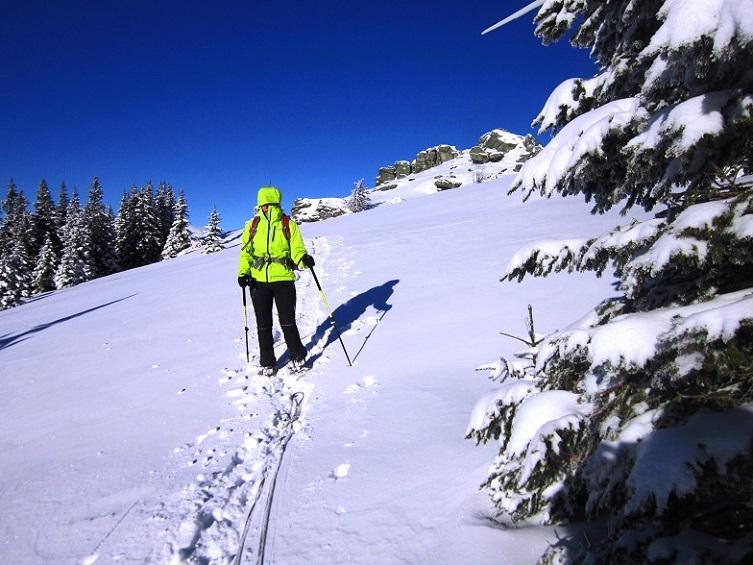 Foto: Andreas Koller / Schneeschuhtour / Weinebene Schneeschuhtour auf zwei Gipfel (1853m) / 04.01.2021 21:51:46