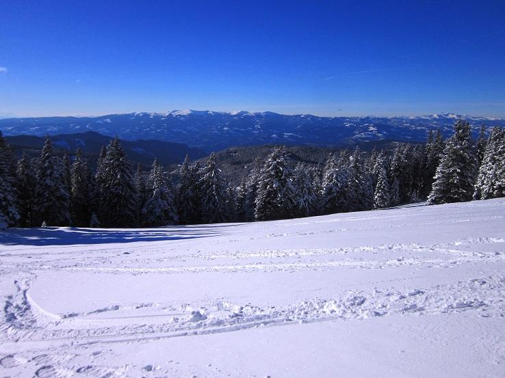 Foto: Andreas Koller / Schneeschuhtour / Weinebene Schneeschuhtour auf zwei Gipfel (1853m) / 04.01.2021 21:51:28