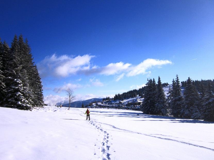 Foto: Andreas Koller / Schneeschuhtour / Weinebene Schneeschuhtour auf zwei Gipfel (1853m) / 04.01.2021 21:51:05