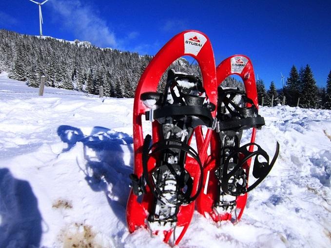 Foto: Andreas Koller / Schneeschuhtour / Weinebene Schneeschuhtour auf zwei Gipfel (1853m) / Zurück am Parkplatz auf der Passhöhe / 04.01.2021 21:50:51